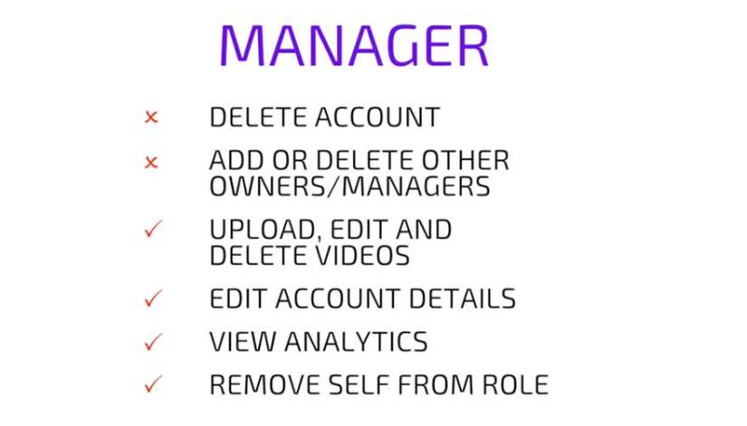 YouTube Manager Abilities