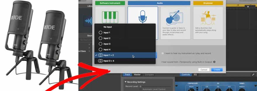 How To Record Using Multiple USB Mics (Mac) Header