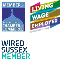 Brighton Chamber, Living Wage and Wired Sussex member