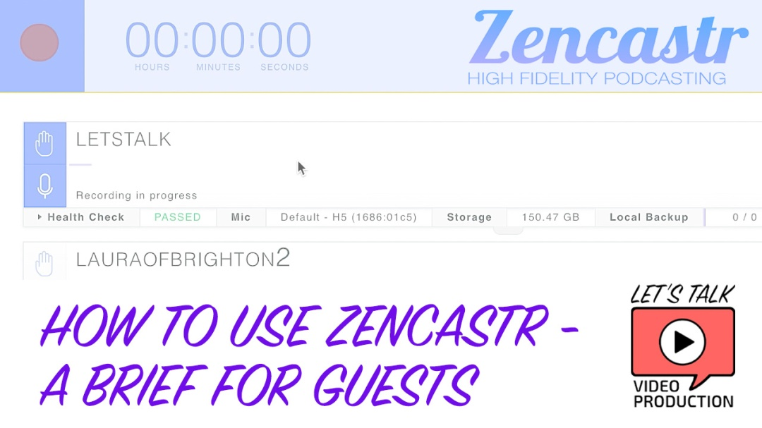 How To Use Zencastr A Brief For Guests